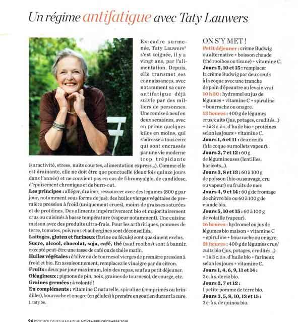 Psychologies magazine nov. 18